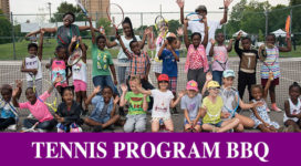 Believe to Achieve Organization Tennis Program BBQ