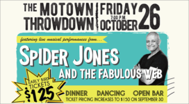 The Motown Throwdown - October 26, 2018